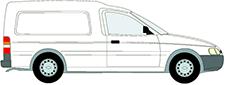 ESCORT '95 Krabice (AVL)