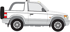 PAJERO II Canvas Top (V2_W, V4_W)