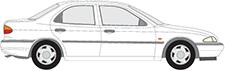 MONDEO I limuzína (GBP)