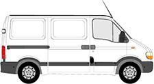 MASTER II karoserie (FD)