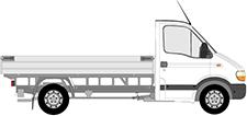 MASTER II valník/podvozek (ED/HD/UD)