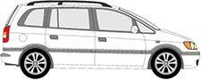 ZAFIRA A velkoprostorová limuzína (T98)
