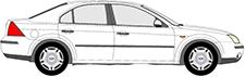 MONDEO III limuzína (B4Y)