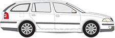 OCTAVIA II Combi (1Z5)