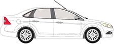 FOCUS II limuzína (DB_, FCH, DH)