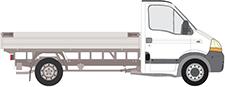 INTERSTAR valník/podvozek
